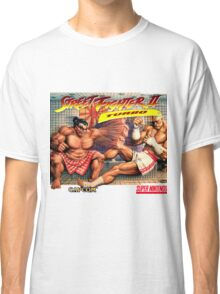 SNES Street Fighter II Turbo cover  Classic T-Shirt