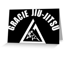 Gracie Jiu Jitsu Martial Arts Brazilian Greeting Card