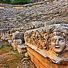 The ancient theater of Myra - Lycia, Turkey by Hercules Milas
