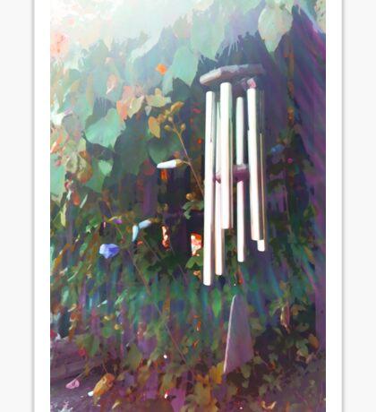 Light Through the Chimes Sticker
