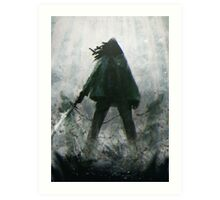 The Walking Dead - Michonne  Art Print
