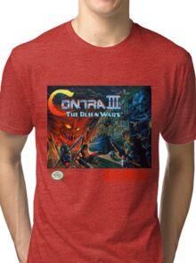 Contra III - Alien Wars  Tri-blend T-Shirt