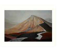 Brecon Walk Art Print