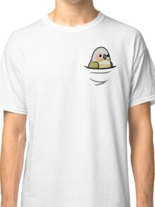 Too Many Birds! - Cinnamon Green Cheek Conure Classic T-Shirt