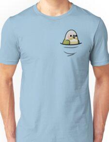 Too Many Birds! - Cinnamon Green Cheek Conure Unisex T-Shirt