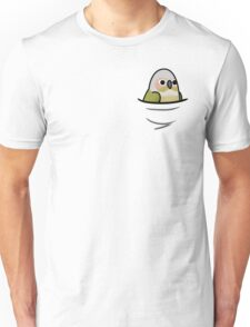 Too Many Birds! - Cinnamon Green Cheek Conure Unisex T-Shirt