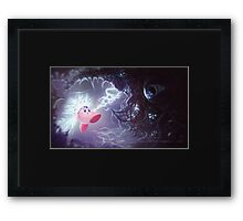 Charged Attack Framed Print