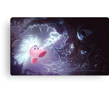 Charged Attack Canvas Print