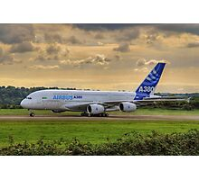 Airbus A380 - Evening Taxi Photographic Print
