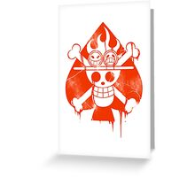 Ace - Spade Pirates Greeting Card