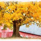 Autumn on the Farm by Edward Fielding