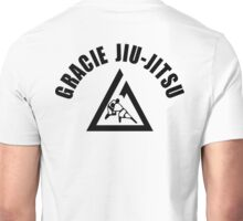 Gracie Jiu Jitsu Martial Arts Brazilian black2 Unisex T-Shirt