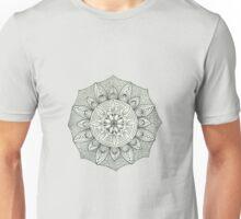 Mandala black and white Unisex T-Shirt