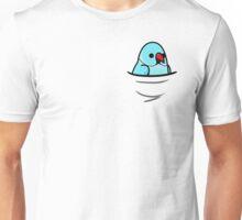Too Many Birds! - Blue Indian Ringneck Unisex T-Shirt