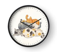 Cat Nap (Siesta Time) Clock