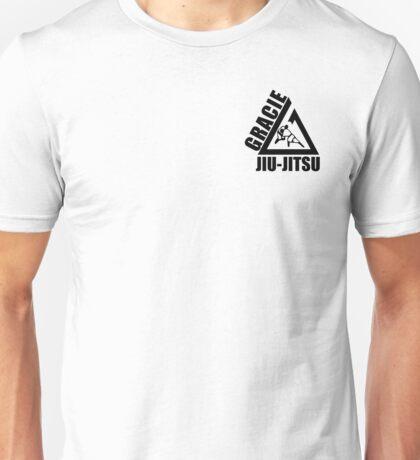 Gracie jiu jitsu martial arts black Unisex T-Shirt