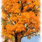 Autumn On The Farm 2 by Edward Fielding