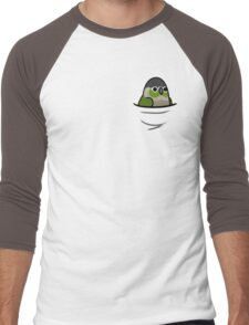 Too Many Birds! - Green Cheeked Conure Men's Baseball ¾ T-Shirt