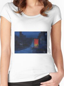Red Curtain Women's Fitted Scoop T-Shirt
