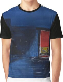 Red Curtain Graphic T-Shirt