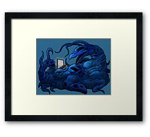 The Intercyberling Framed Print