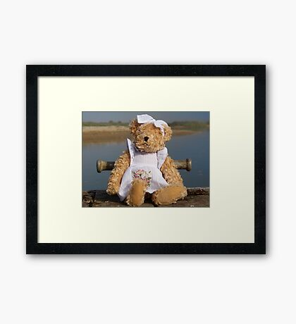 Shirley Bear Framed Print