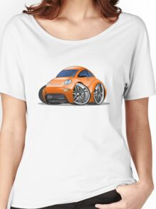 Cartoon car Women's Relaxed Fit T-Shirt