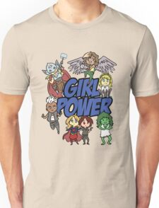 Comics Girl Power Unisex T-Shirt