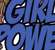 Comics Girl Power Sticker