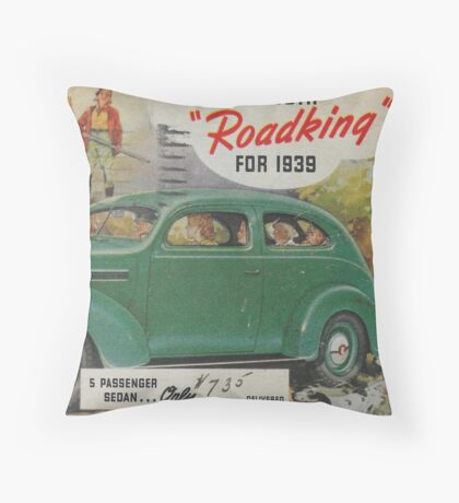 me peterson designs | all i want is a 1939 roadking! Throw Pillow