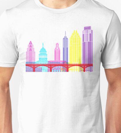 Austin skyline pop Unisex T-Shirt
