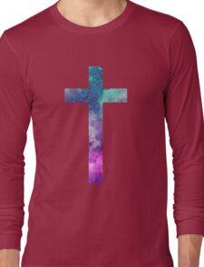 Christian Cross Long Sleeve T-Shirt