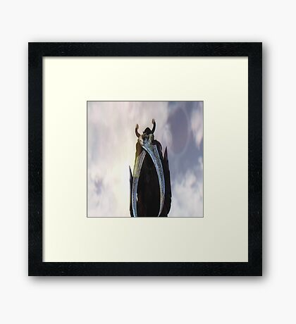 Off into the distance Framed Print