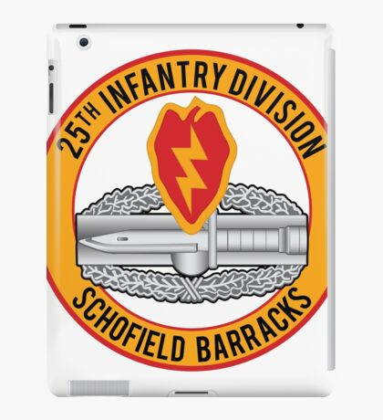 25th Infantry CAB iPad Case/Skin