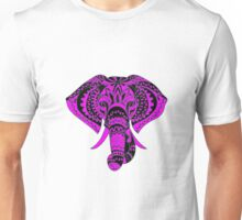 India Tattoo Elephant Unisex T-Shirt