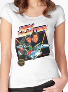 NES Spy Hunter  Women's Fitted Scoop T-Shirt