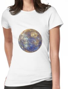 Mercury planet Womens Fitted T-Shirt
