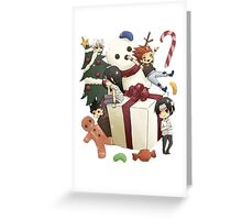 Hunter x Hunter- Christmas Greeting Card
