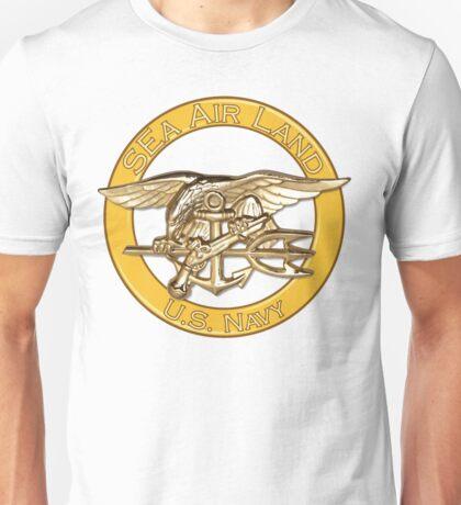 Navy SEa Air Land (SEALs) Unisex T-Shirt