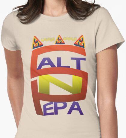 Salt-N-Pepa Womens Fitted T-Shirt