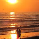 Romantic Sunset by Christine  Wilson