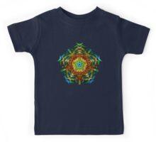 Energetic Geometry-   Multidimensional Power Star Energy Kids Tee
