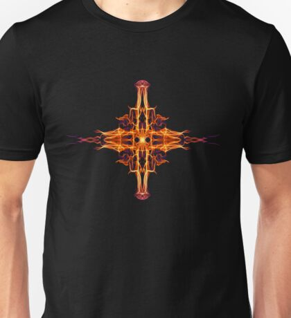 Energetic Geometry-  Abstract Sigil Symbol for Fortitude  Unisex T-Shirt