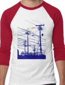 RAINBOW BIRDS Men's Baseball ¾ T-Shirt