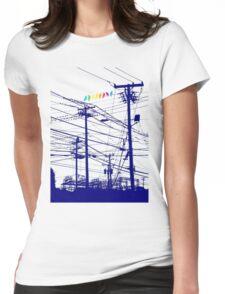 RAINBOW BIRDS Womens Fitted T-Shirt