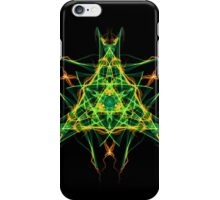 Energetic Geometry-  Abstract Pentacle Symbol for Earthen Connection iPhone Case/Skin