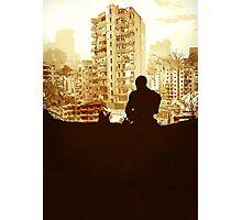 Minimal Silhouette Poster Design Apocalypse Gaming Photographic Print