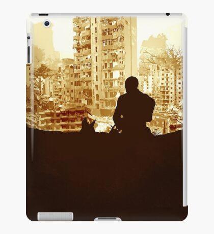 Minimal Silhouette Poster Design Apocalypse Gaming iPad Case/Skin