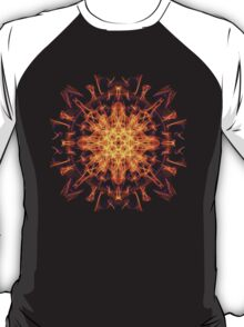 Energetic Geometry - Abstract Solar Power Symbol T-Shirt
