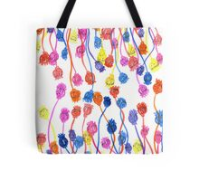 Poppy Seed Pods Tote Bag